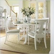 White Dining Room Table Set Pedestal Dining Table Set Foter
