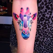 Giraffe Tattoos Meaning 120 Best Giraffe Designs Meanings On Your Skin 2018