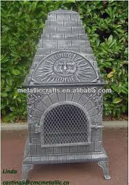 Chiminea With Pizza Oven Metal Chiminea Metal Chiminea Suppliers And Manufacturers At