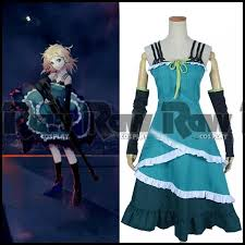 Tina Halloween Costume Black Bullet Tina Sprout Cosplay Costume Anime Women Party