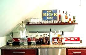Apartment Bar Ideas Shelf Shelves Designs Home Shelving Room