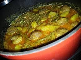 cuisiner haricot vert recette de ragoût pommes de terre haricot vert au boulettes de boeuf