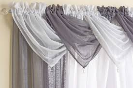 casablanca sparkle voile swag sheer voile curtain ready made