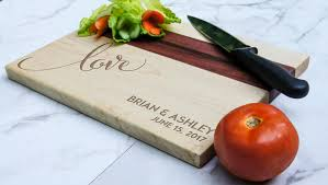 personalized cutting board custom cutting board engraved cutting