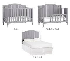 White Plastic Toddler Bed Catalina 3 In 1 Convertible Crib Pottery Barn Kids
