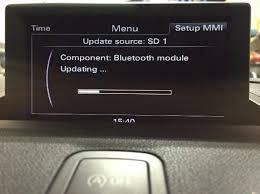 bluetooth audi a1 mmi bluetooth update