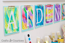 Easy Arts And Crafts For Kids With Paper - easy diy kids art themed birthday party