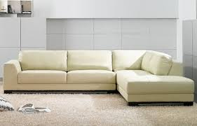 Leather Modern Sectional Sofa Modern Sectionals