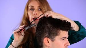 haircuts forward hair how to cut top hair for forward motion hair cutting youtube