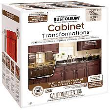 rustoleum kitchen cabinet transformation kit rust oleum cabinet transformations dark kit the home depot canada