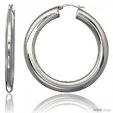 surgical steel hoop earrings stainless steel earrings silverblings