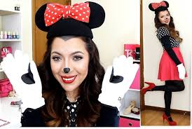Minnie Mouse Halloween Makeup by Disfraz Y Maquillaje De Minnie Mouse Halloween Beautybynena