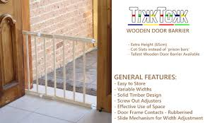 Baby Safety Gates For Stairs Adjusted Baby Pet Child Safety Security Gate Wooden Stair Door
