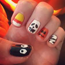 easy to do halloween nail art sara nail easy halloween art casper
