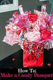 to create a candy bouquet arrangement this diy gift is great for