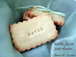 activité manuelle cuisine biscuits sablés amour de cuisine