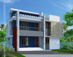 30x40 contemporary three storied home kerala design and loversiq