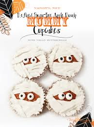 nice u201d refined sugar free apple parsnip ghost u0026 mummy cupcakes with