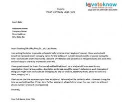 character reference letter for a friend sample template design