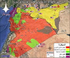 map of syria complete map of syria february 2018