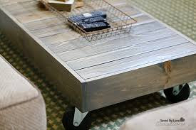 Diy Wood Coffee Table by Diy Industrial Reclaimed Wood Coffee Table