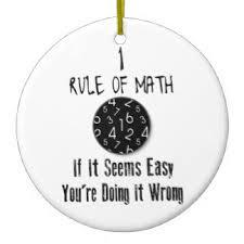 math quotes ornaments keepsake ornaments zazzle
