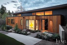 cedar siding from lakeside lumber lends a sense of verticality to