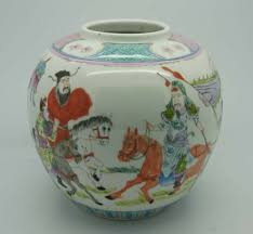 well decorated ginger jar chinese art in scotland