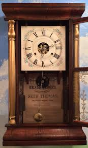 Antique Seth Thomas Mantel Clocks Indianarog And The Temple Of Steam Miniature Steam Engines By