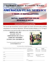 Us Flag Facts Us Flags Summit High Spartan Band