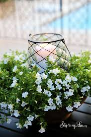 easy outdoor floral centerpiece skip to my lou