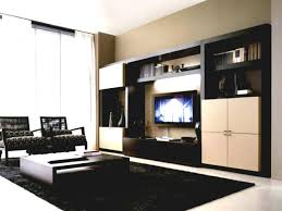 bedroom living room marvelous design idea with brown tv cabinet