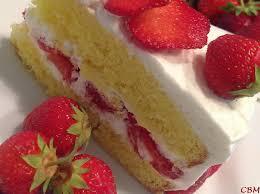 aux fraises cuisine dans la cuisine de blanc manger shortcake aux fraises japonais