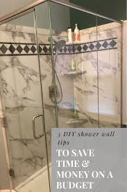 5 diy shower wall tips and ideas to save time and money u2013 innovate