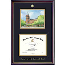 14x17 diploma frame of the incarnate word 11x14 diploma frame with