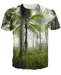 Tree Shirt Palm Tree Forest T Shirt 3d Print T Shirt S Tops Casual