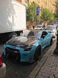 nissan gtr liberty walk nissan gtr with a liberty walk body kit spotted