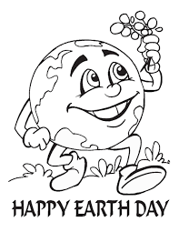 earth day coloring pages picture of the planet to color educations