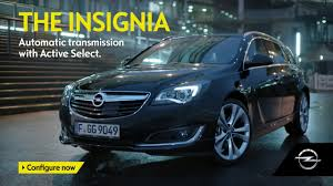 opel ireland 6 speed automatic transmission on the opel insignia youtube