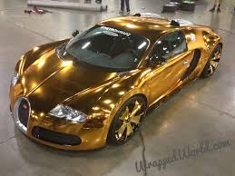 latest bugatti image gold wrapped bugatti veyron 1 jpg kingdomhearts3d ddd