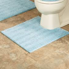 Contour Bath Rugs Comforel Toilet Lid Covers Or Striped Bath Rugs