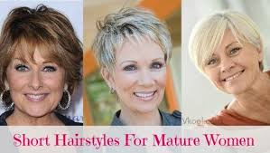 short hair for square faces on mature women 16 best short hairstyles for mature women