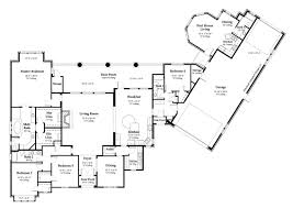 open floor plans french country home deco plans