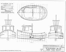 candu e z mini tugboat plans tugboats