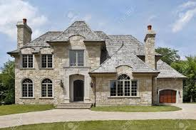 homes with stone exterior home design ideas