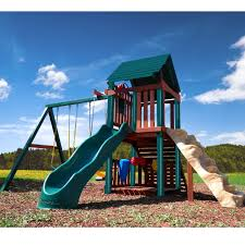 backyard play structures inspirations wooden swingsets backyard