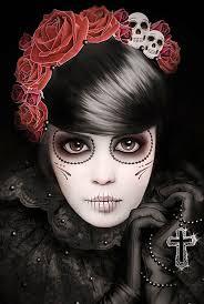 happy halloween day 30 gothic halloween makeup ideas