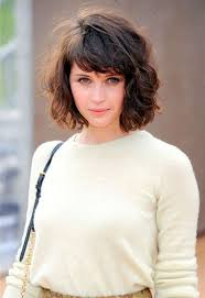 medium short curly hair best haircut for chub face hairstyles for