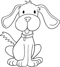 Coloriage un chien  Doryfr coloriages