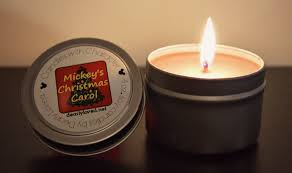 candles with character mickey s carol candle review